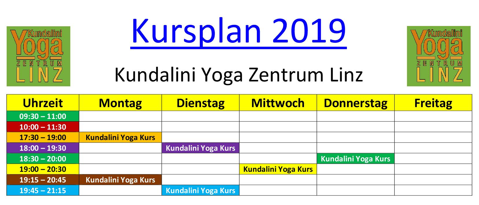 Kursplan 2019 Webseite
